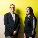 Huckletree members Dave and Sitara of Dream Reality Interactive