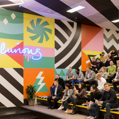Launch Party for Fintech members Counting Up at Huckletree West