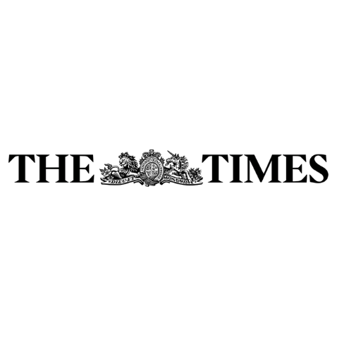 The Times black and white logo