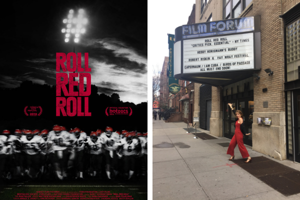 Together Films: Roll Red Roll poster, and director of Roll Red Roll Nancy Schwartzman