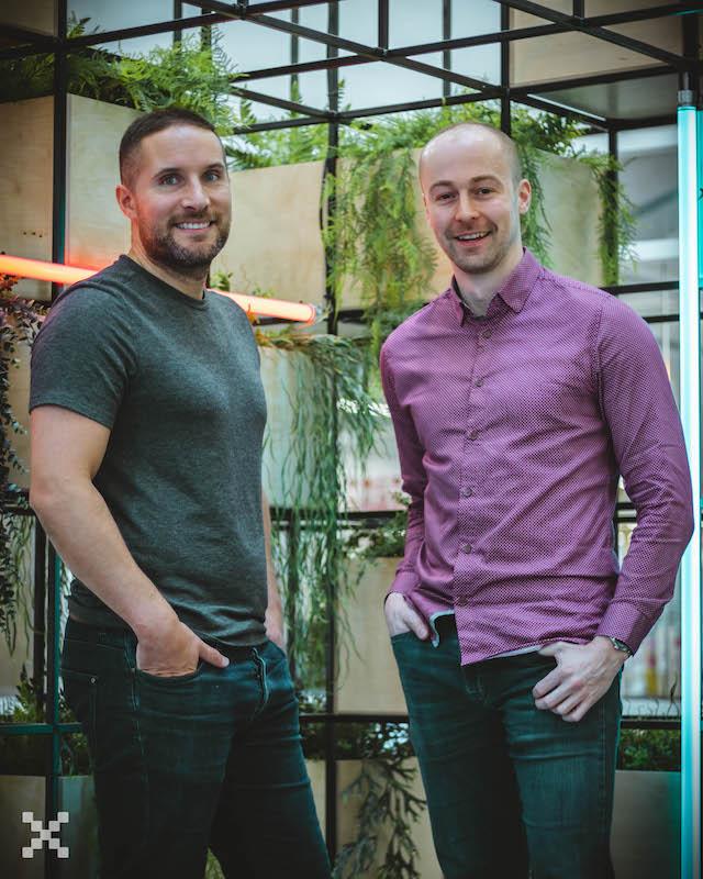 Huckletree Members Chris Buckley and Matt Hartley, Pixel Kicks